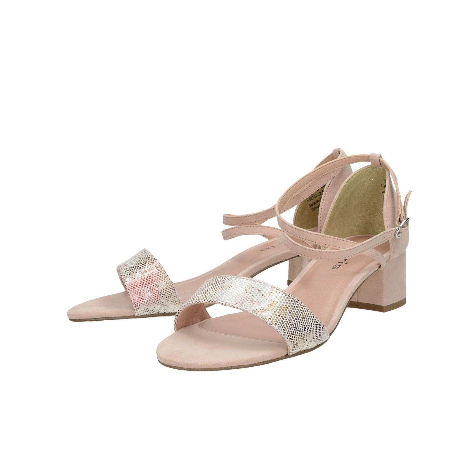 5ef22edfa8 ... Tamaris dámske pohodlné sandále - ružové ...