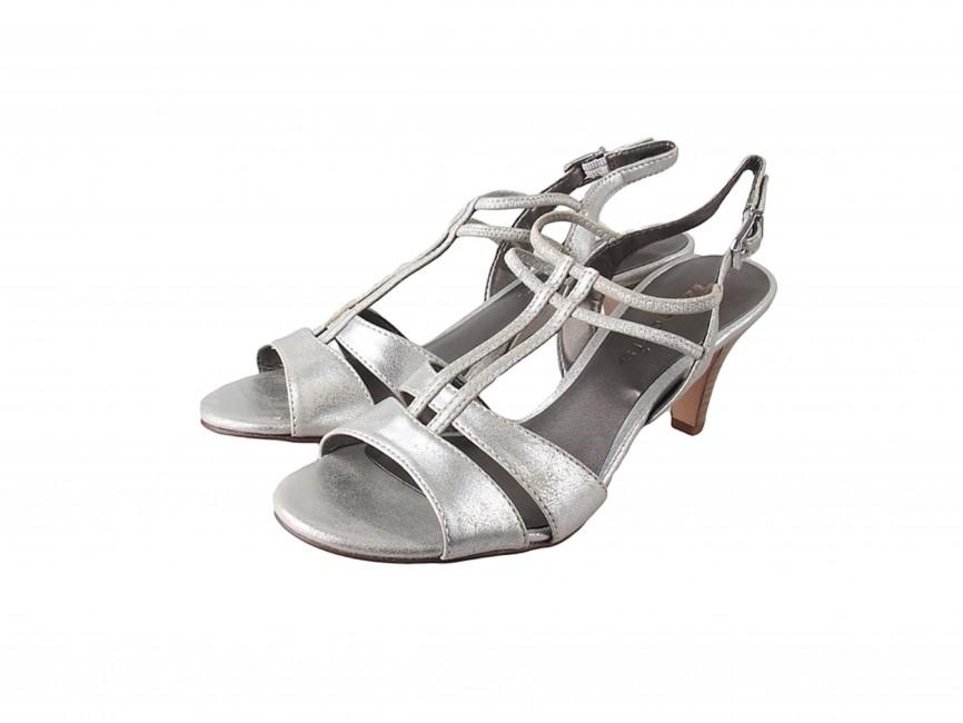 0e38244cf Tamaris dámske sandále - strieborné | 2830426-SILVER www.robel.sk