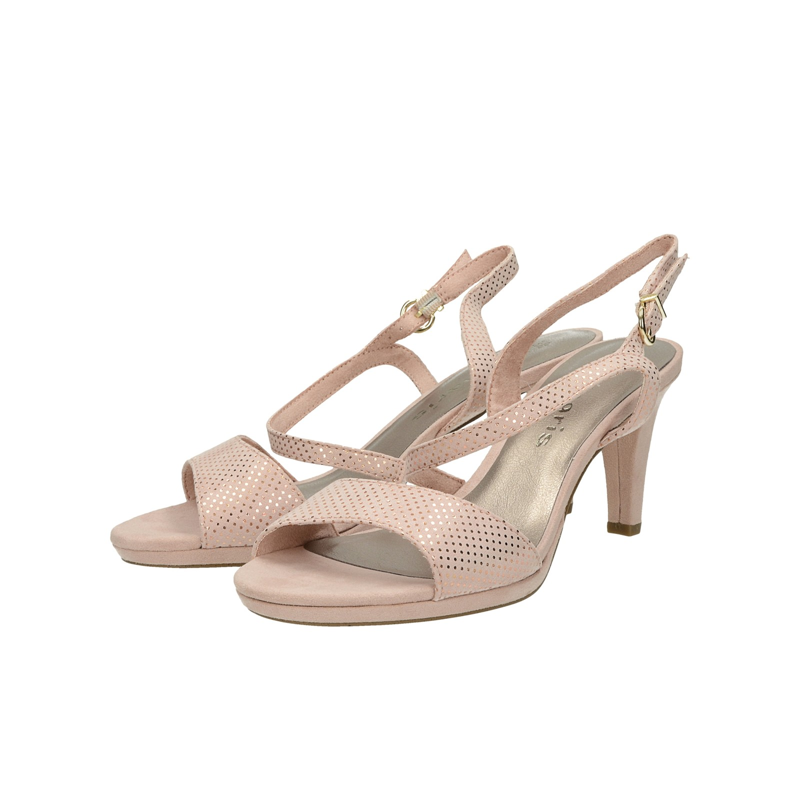109f1d90a4 Tamaris dámske sandále s remienkom - ružové ...