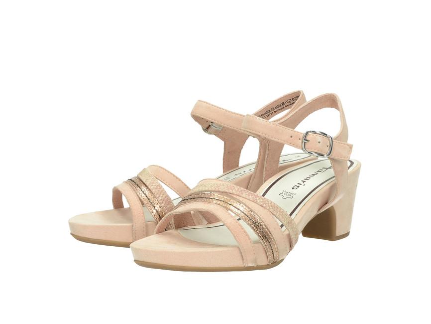 16d649fe14 Tamaris dámske sandále - ružové ...