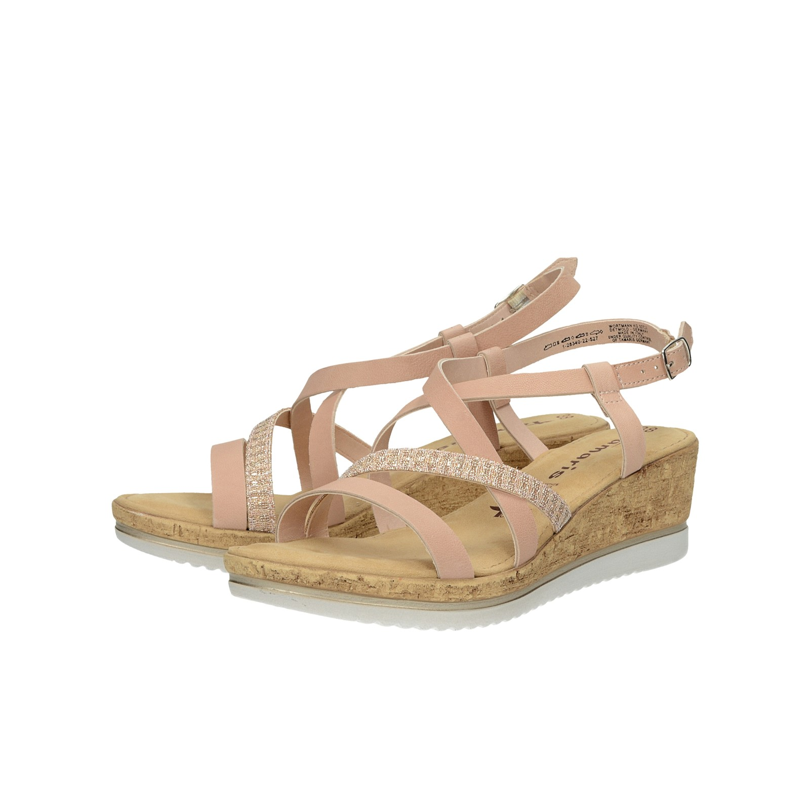 adb31e6e39d4 Tamaris dámske štýlové sandále - ružové ...
