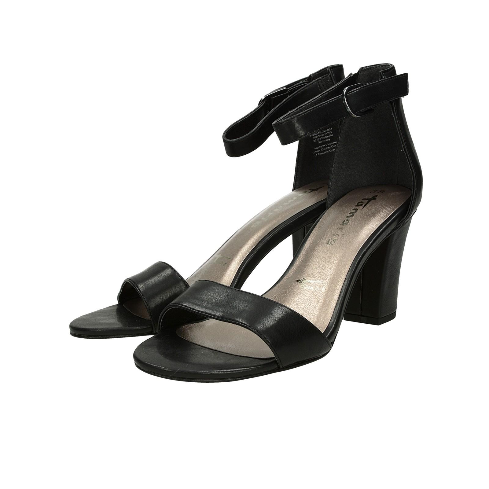 194b32d6ebda Tamaris dámske pohodlné sandále - čierne ...