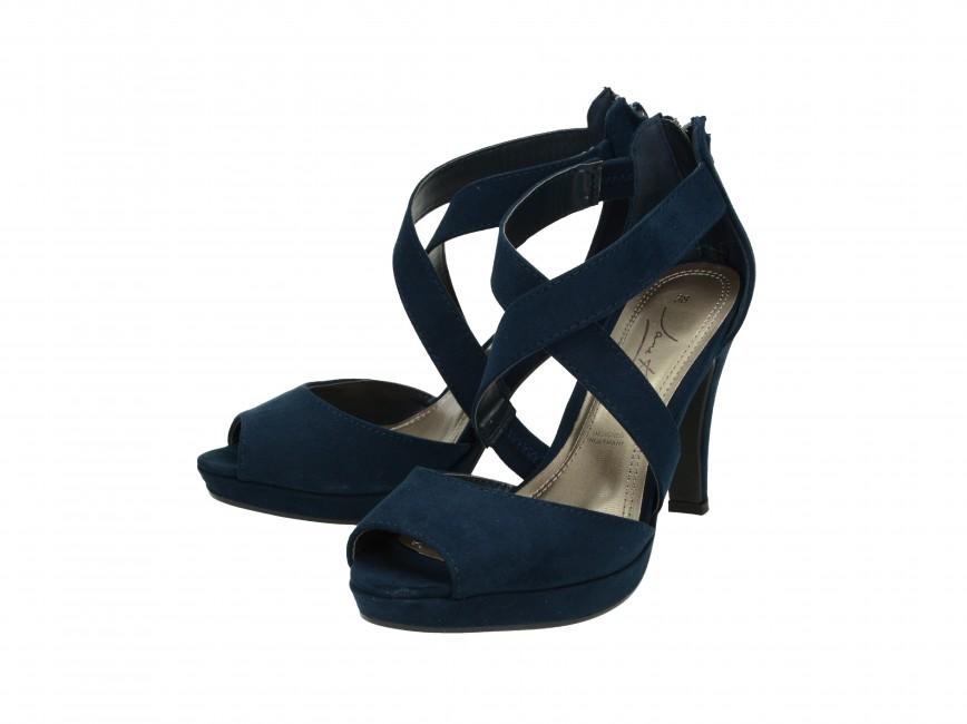 514fe6e7960f Jane Klain dámske sandále - modré ...