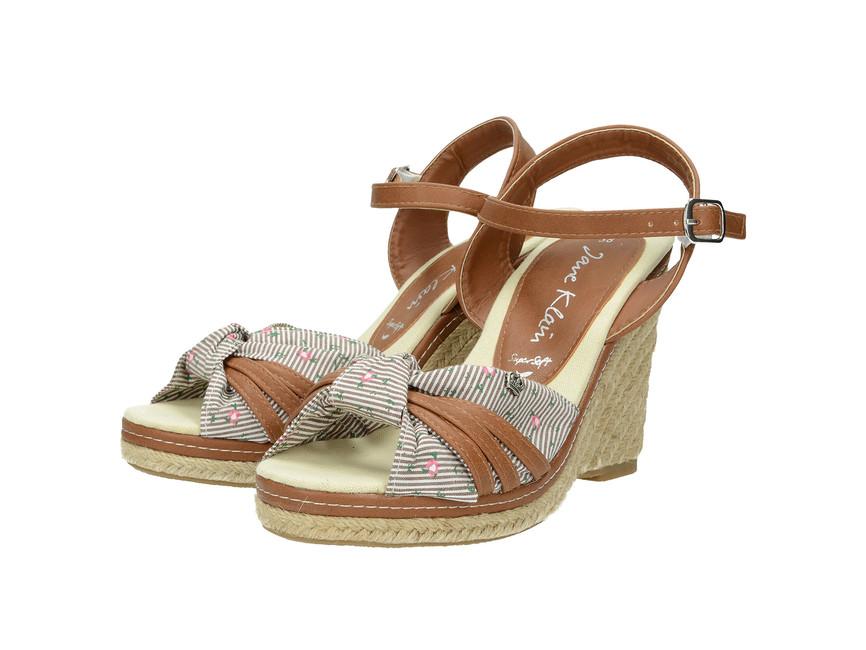 389c9a0e57 Jane Klein dámske sandále - hnedé ...