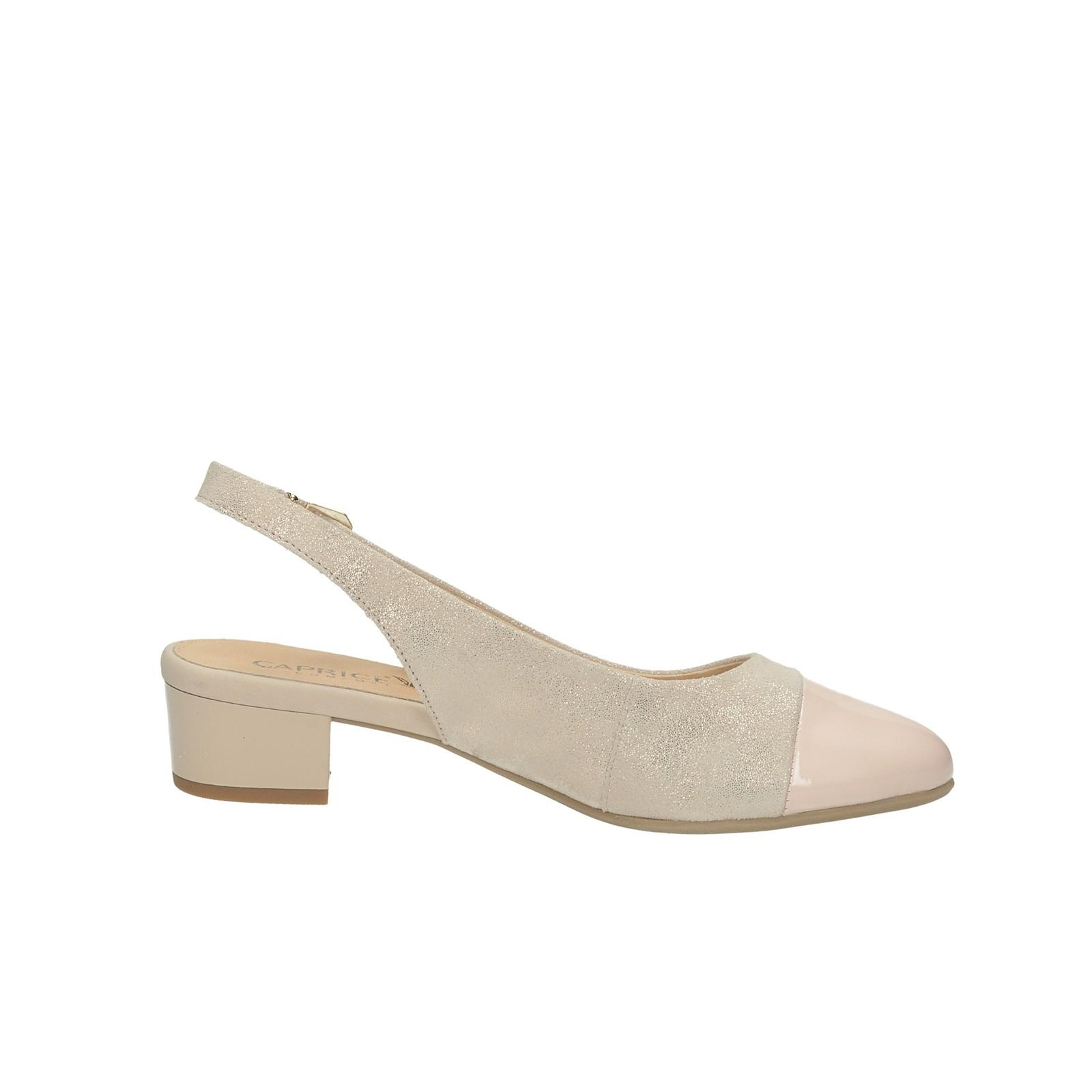 49cf1b246de4 ... Caprice dámske kožené sandále - ružové ...
