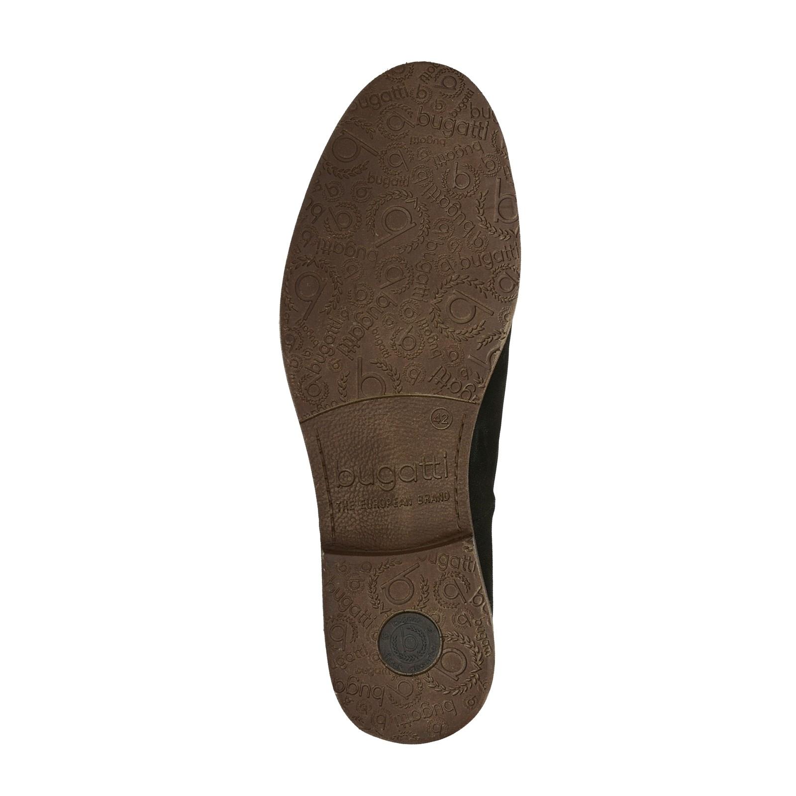 81157f30453 Bugatti pánska štýlová členková obuv - čierna ...