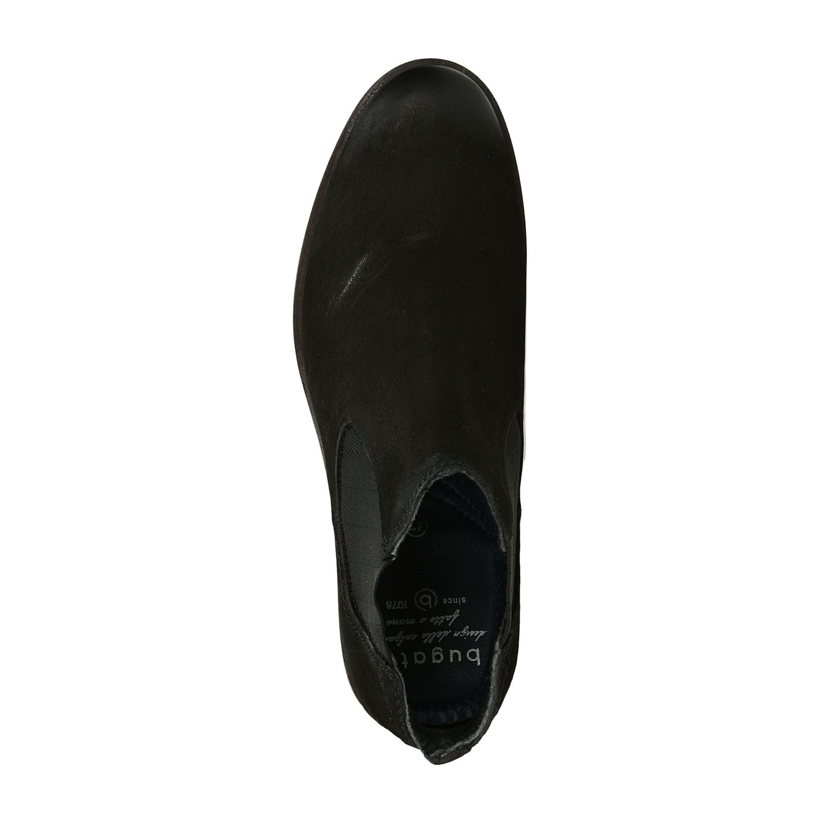 53ab5456aabaf Bugatti pánska štýlová členková obuv - čierna | 311-17336-3500-1000 ...