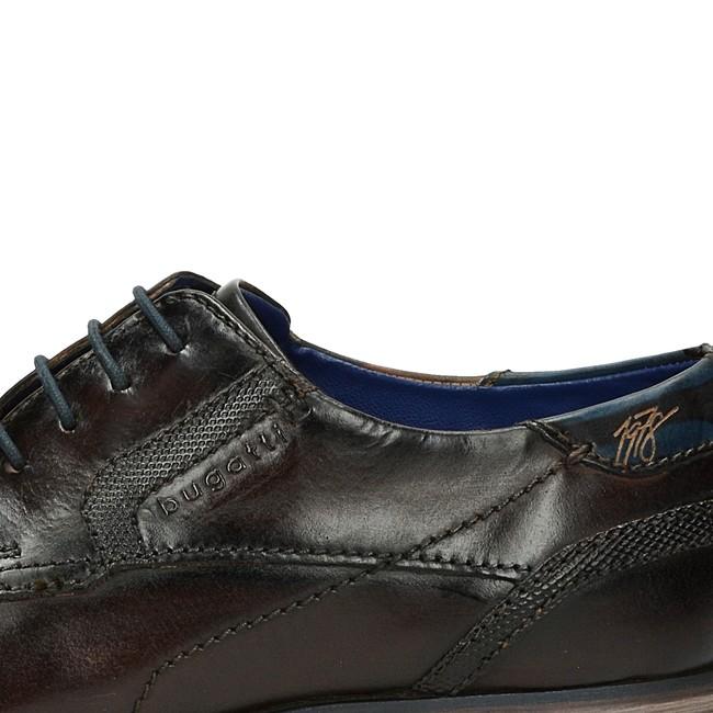 62821032e8cf ... Bugatti pánske kožené spoločenské topánky - hnedé ...