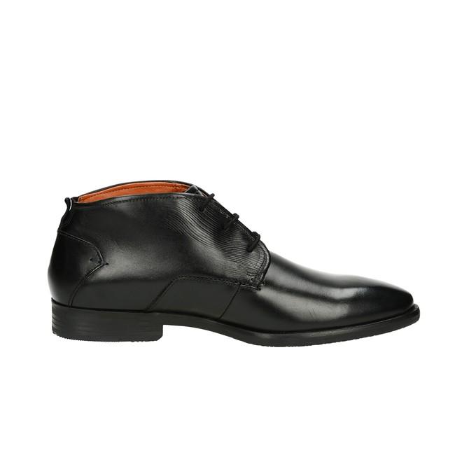 Bugatti pánska kožená členková obuv - čierna ... 3c9a1bc7ce
