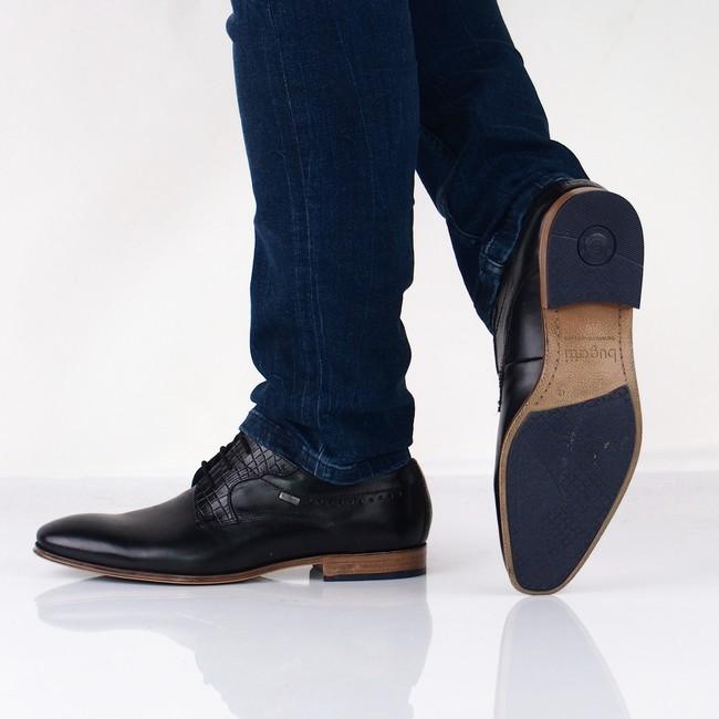a1dff56e6 Bugatti pánske topánky -- čierne   311252021000-1000 www.robel.sk