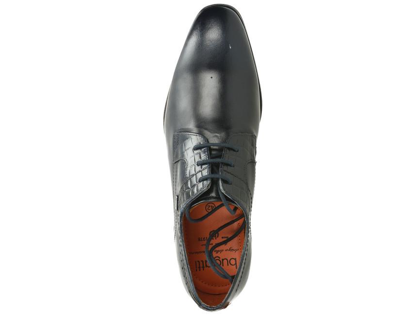 20829b3727dc ... Bugatti pánske topánky - tmavomodré ...
