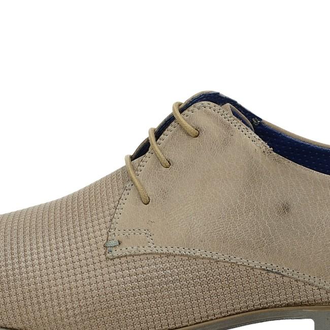 5ed331cfac ... Bugatti pánske štýlové spoločenské topánky - béžová ...