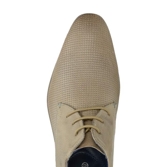 610306249f Bugatti pánske štýlové spoločenské topánky - béžová ...