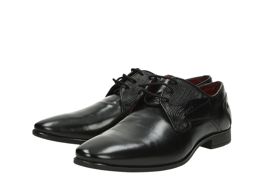 08cc4bbdc5 Bugatti pánske spoločenské topánky - čierne ...