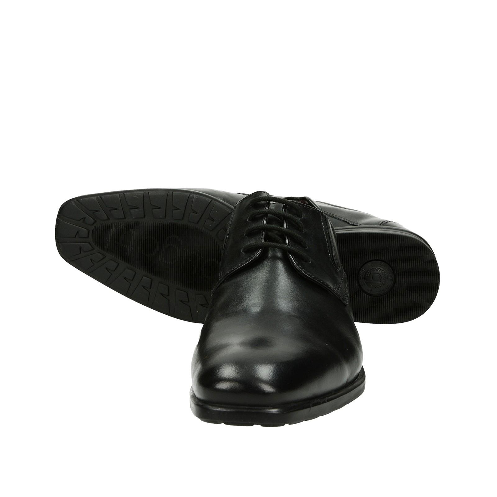... Bugatti pánske kožené spoločenské topánky - čierne ... 3d55d8e9196