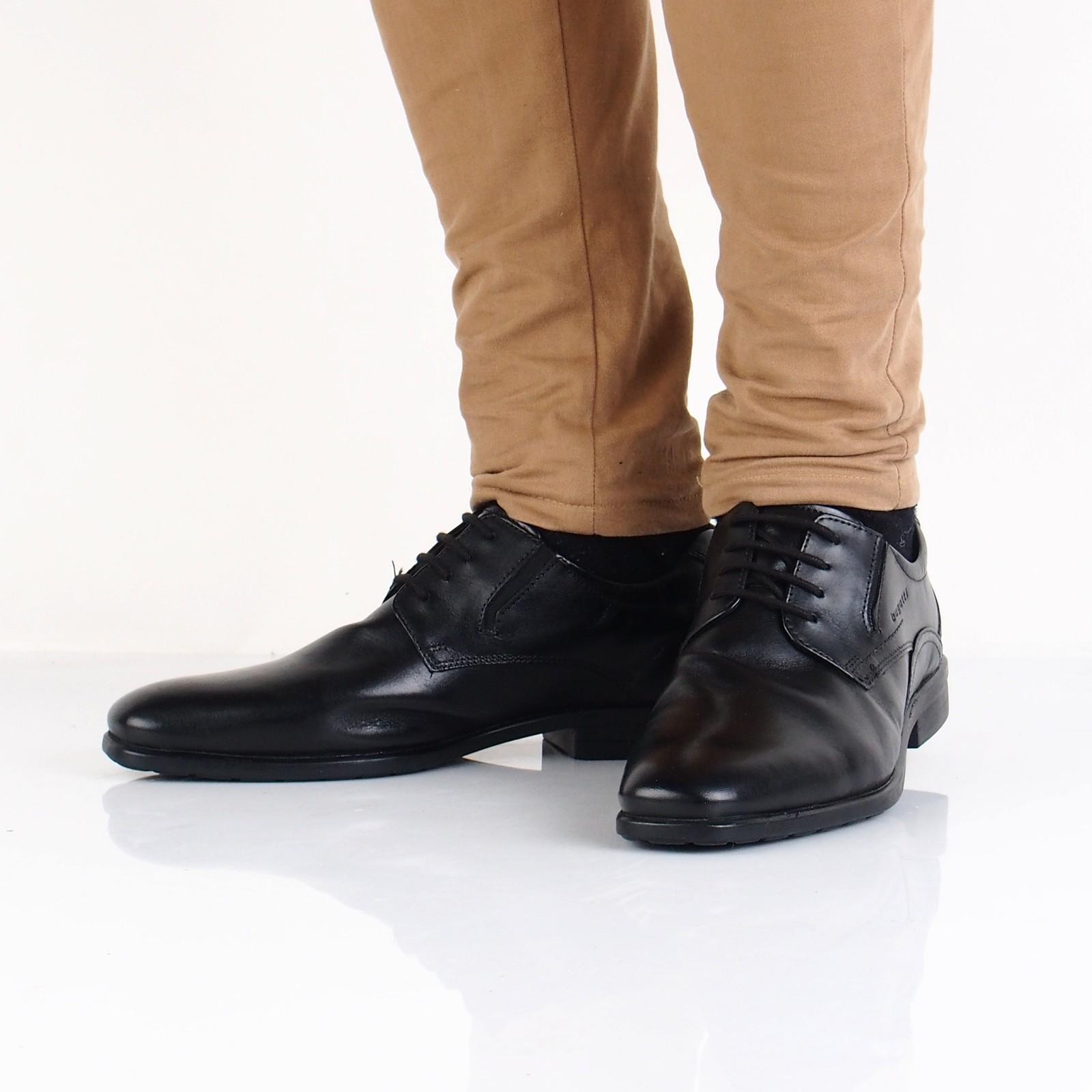 988bb57cc3b5 Bugatti pánske kožené spoločenské topánky - čierne ...