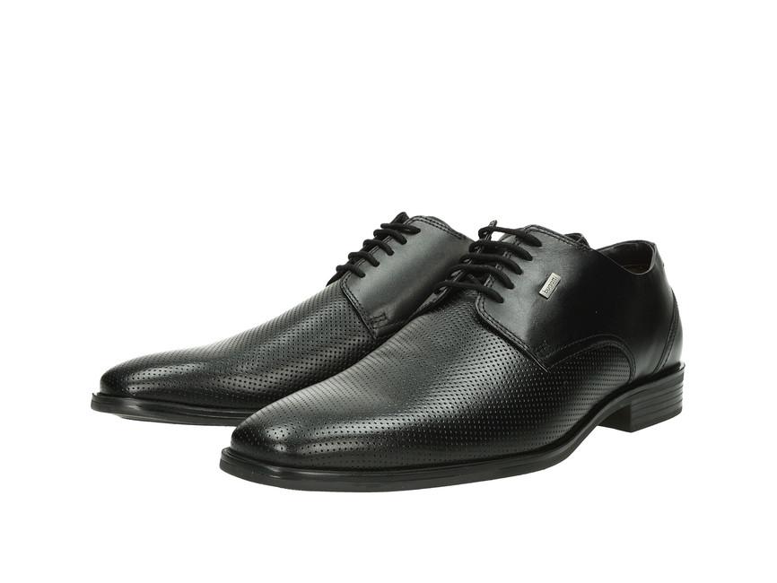 ec20a3b6fd47 Bugatti pánske kožené topánky - čierne ...