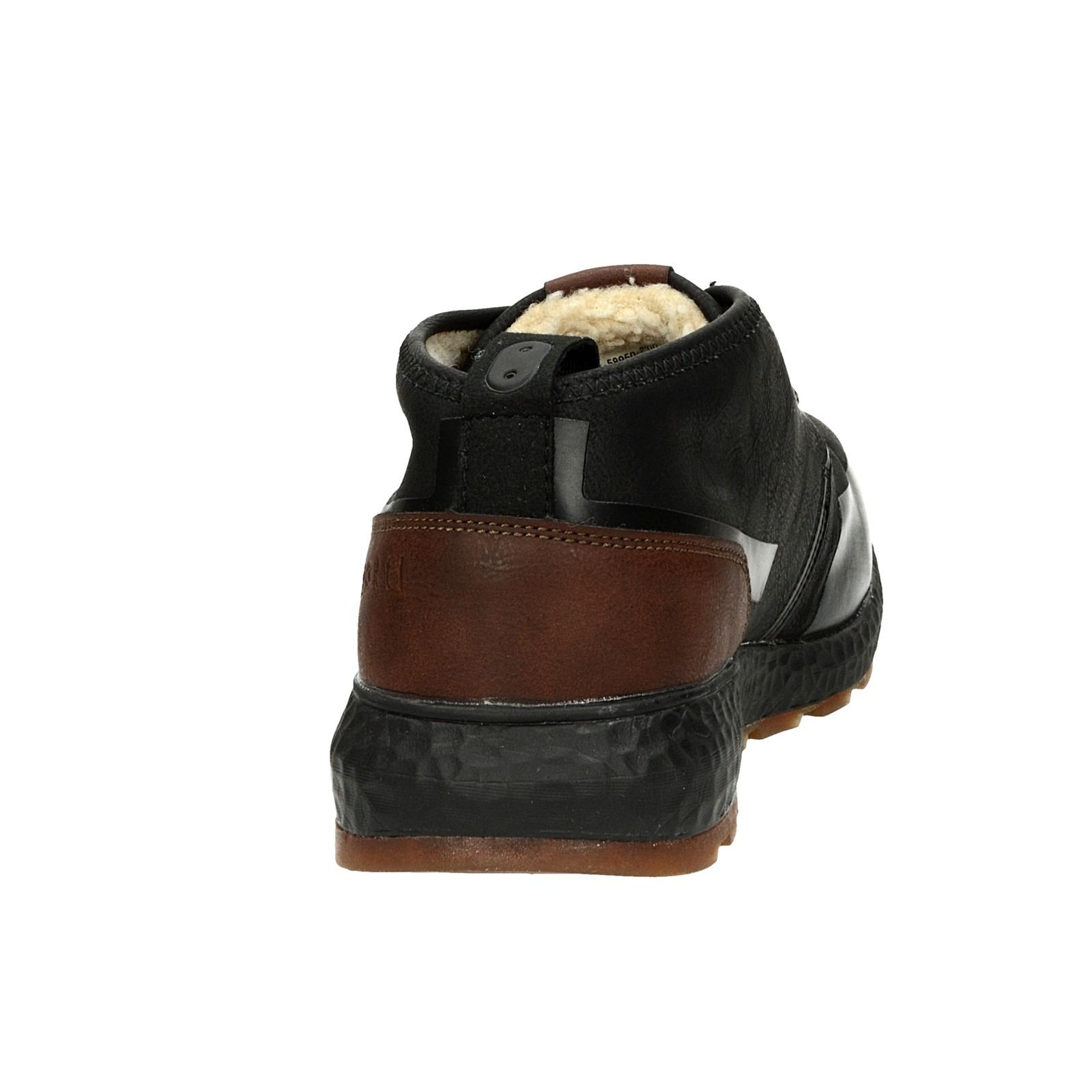 Bugatti pánske zateplené tenisky - černé