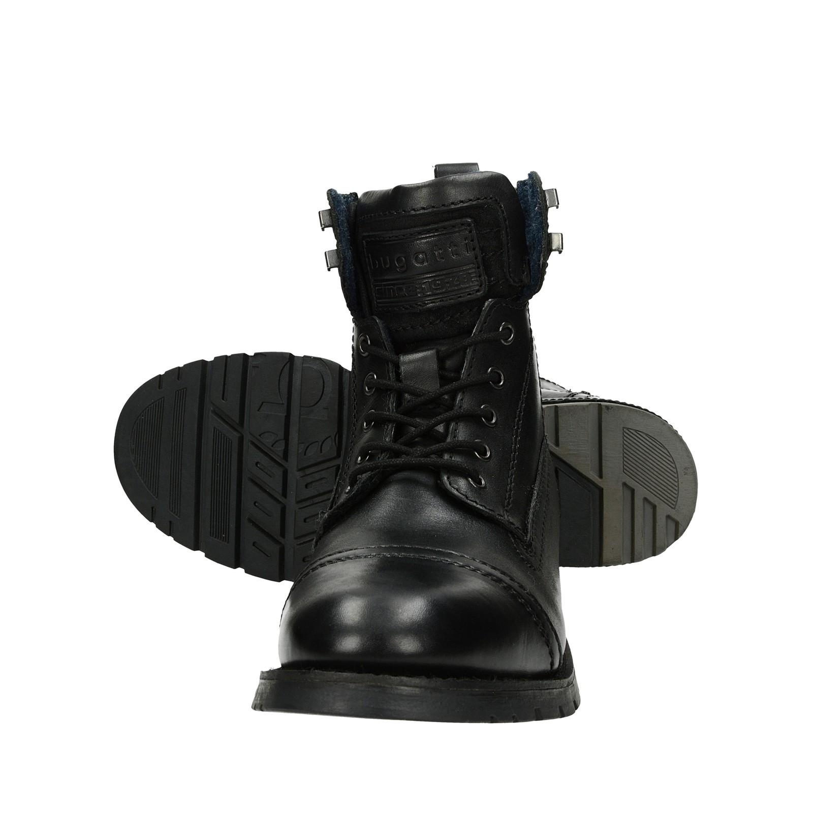 9d2967e403bec Bugatti pánska štýlová členková obuv - čierna | 321-61131-1200-1000 ...