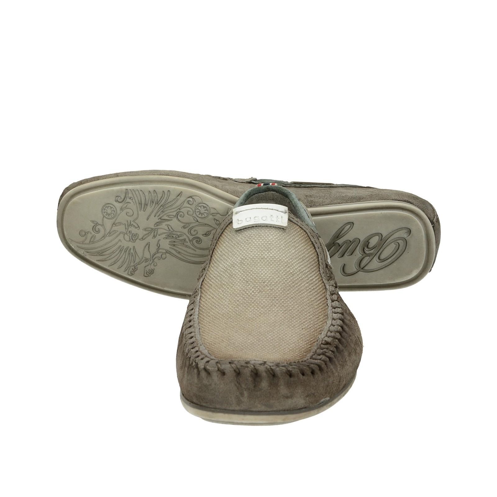 faa474eed Bugatti pánske pohodlné mokasíny - béžové | 321-70463-3469-1512 www ...