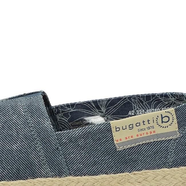 Bugatti pánske štýlové espadrilky - modré