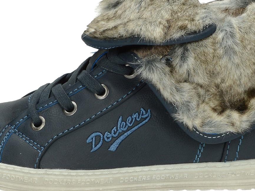 941233d179 ... Dockers dámske členkové tenisky - modré ...