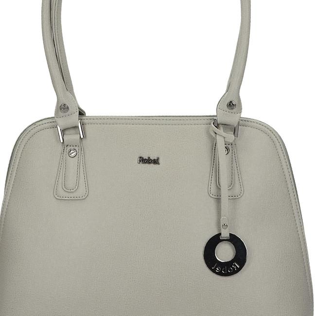 Robel dámska praktická kabelka - šedá