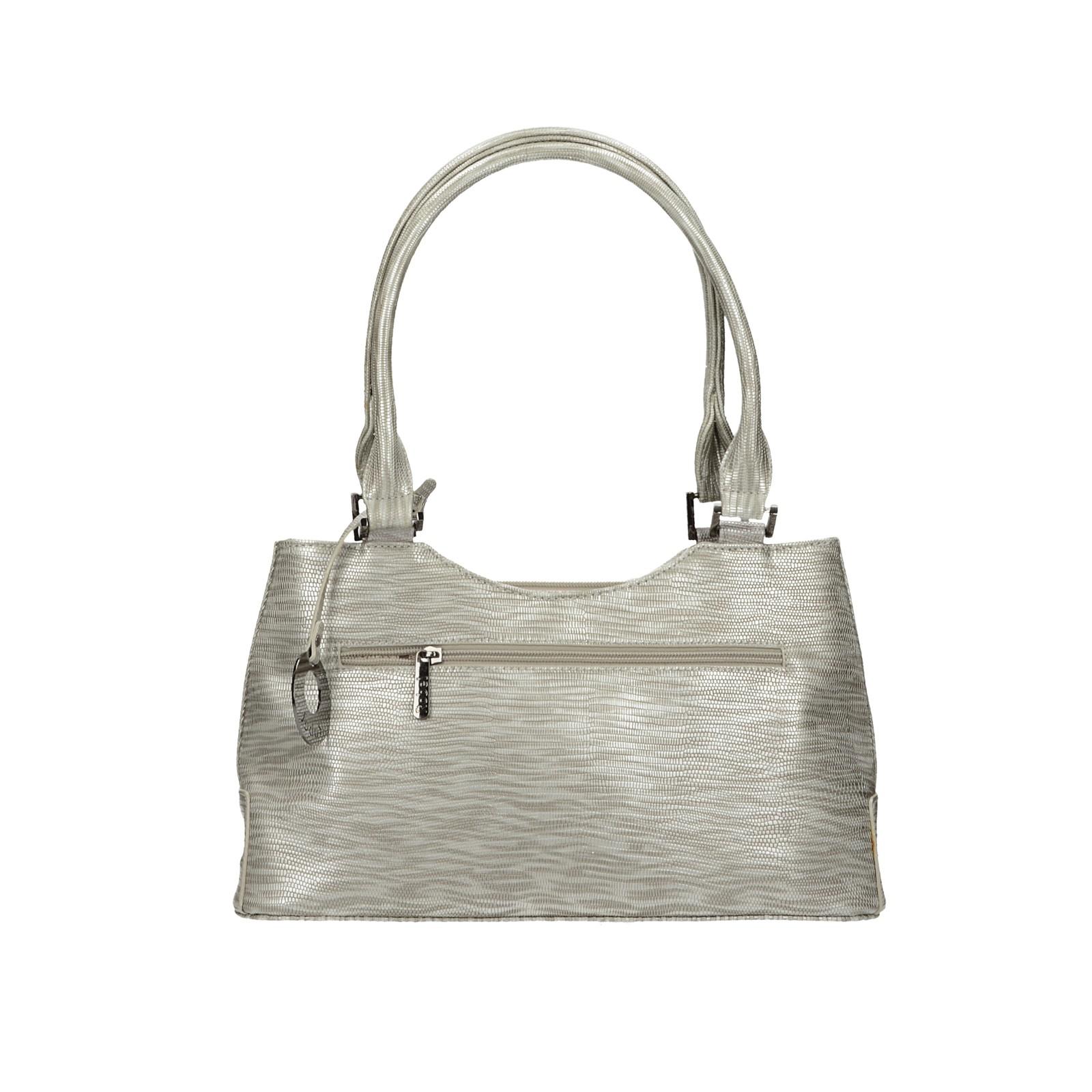 Robel dámska štýlová kabelka - strieborná
