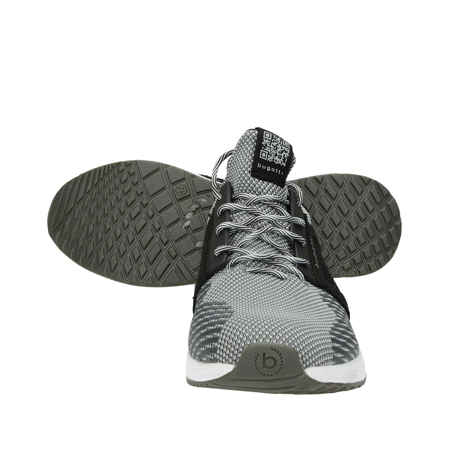 Bugatti pánske štýlové tenisky - šedé