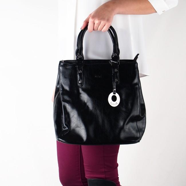 bf557bd6a Robel dámska štýlová kabelka - čierna | 3474-BLK www.robel.sk