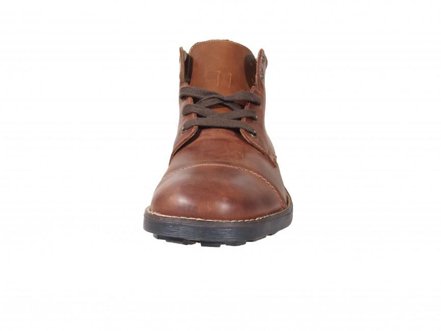 3ec4f9597b ... Rieker pánske zimné členkové topánky - hnedé ...