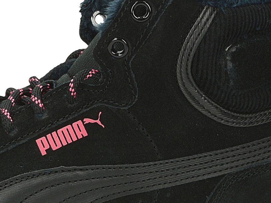 87d3a7cf4189a Puma dámske pohodlné zateplené tenisky - čierne | 36372902-BLK www ...