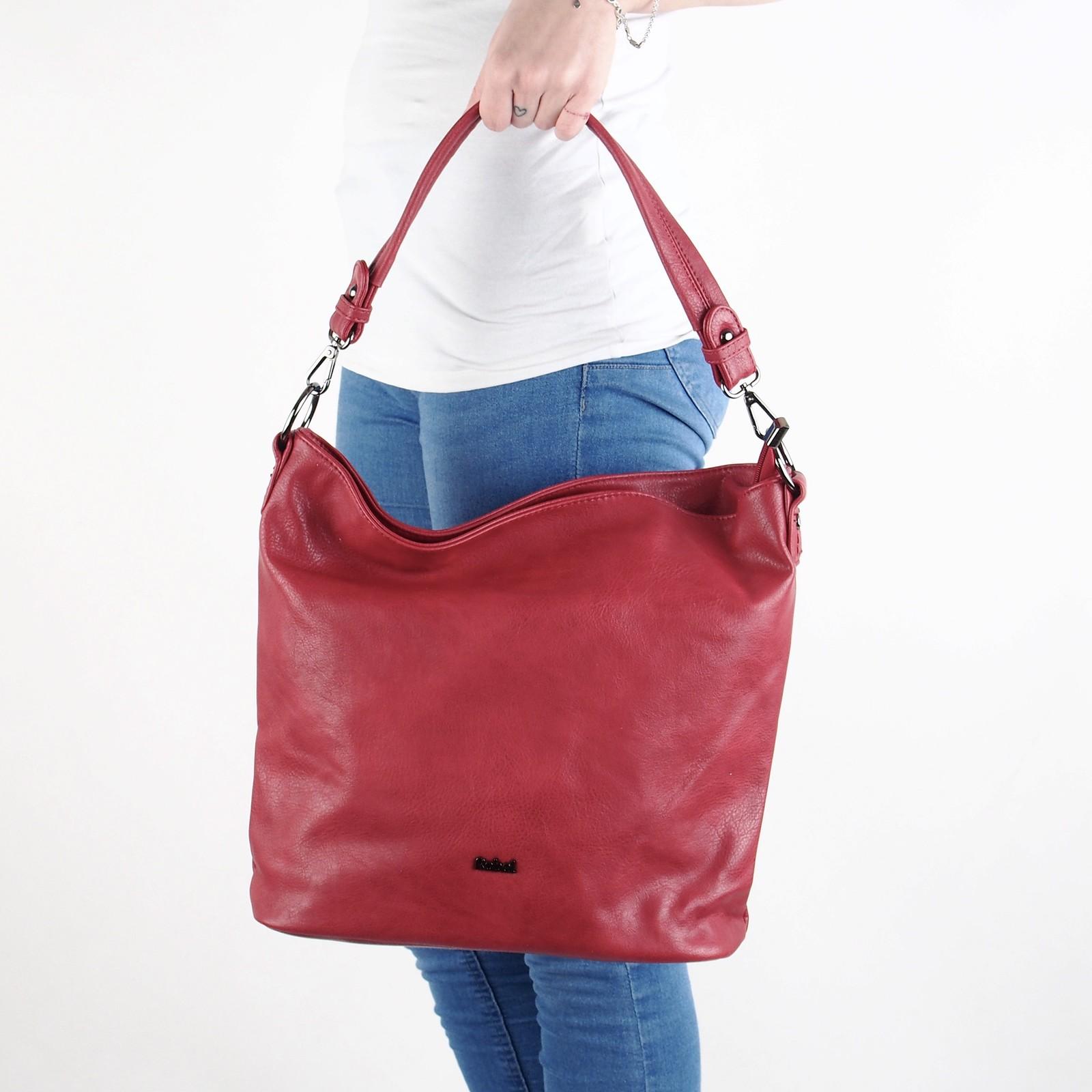 0163025210ba Robel dámska štýlová kabelka - červená ...