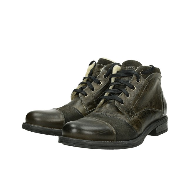 b8a426d37 Robel pánska módna členková obuv - tmavošedá   3763-DR GREY www.robel.sk
