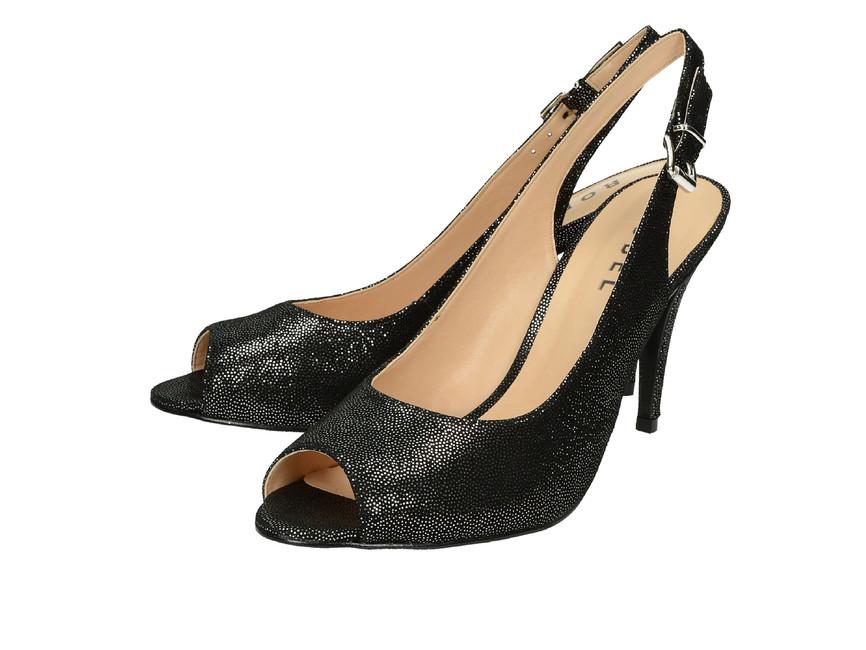 9ead4a4a1848 Robel dámske sandále na vysokom podpätku - čierne ...