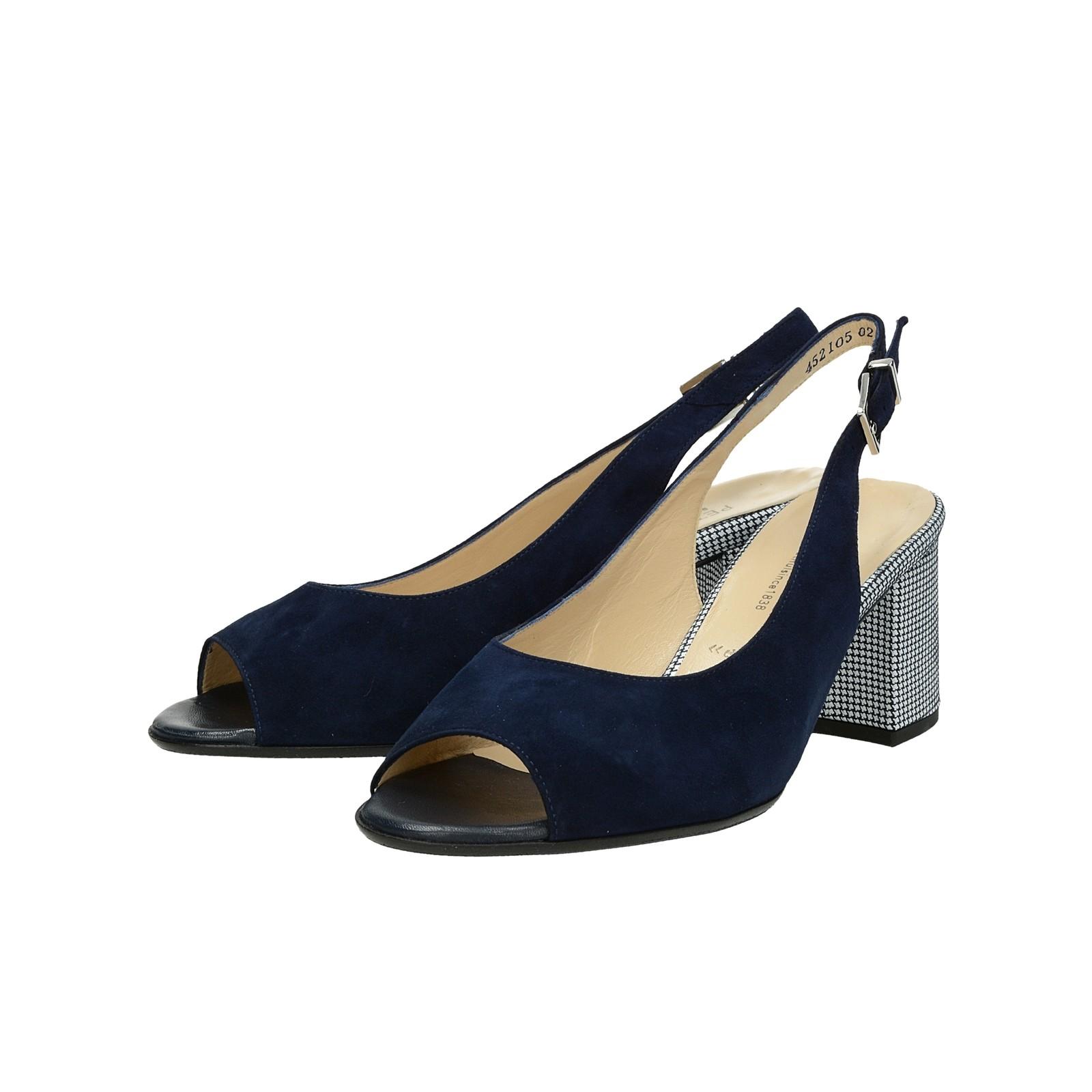 263265ad1e90 ... Peter Kaiser dámske semišové sandále s remienkom - tmavomodré ...