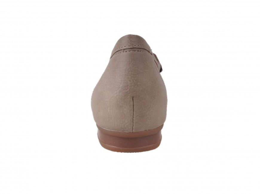 0763eb4a147f5 Rieker dámske kožené mokasíny s kamienkami - béžové | 4009760-PEBBLE ...
