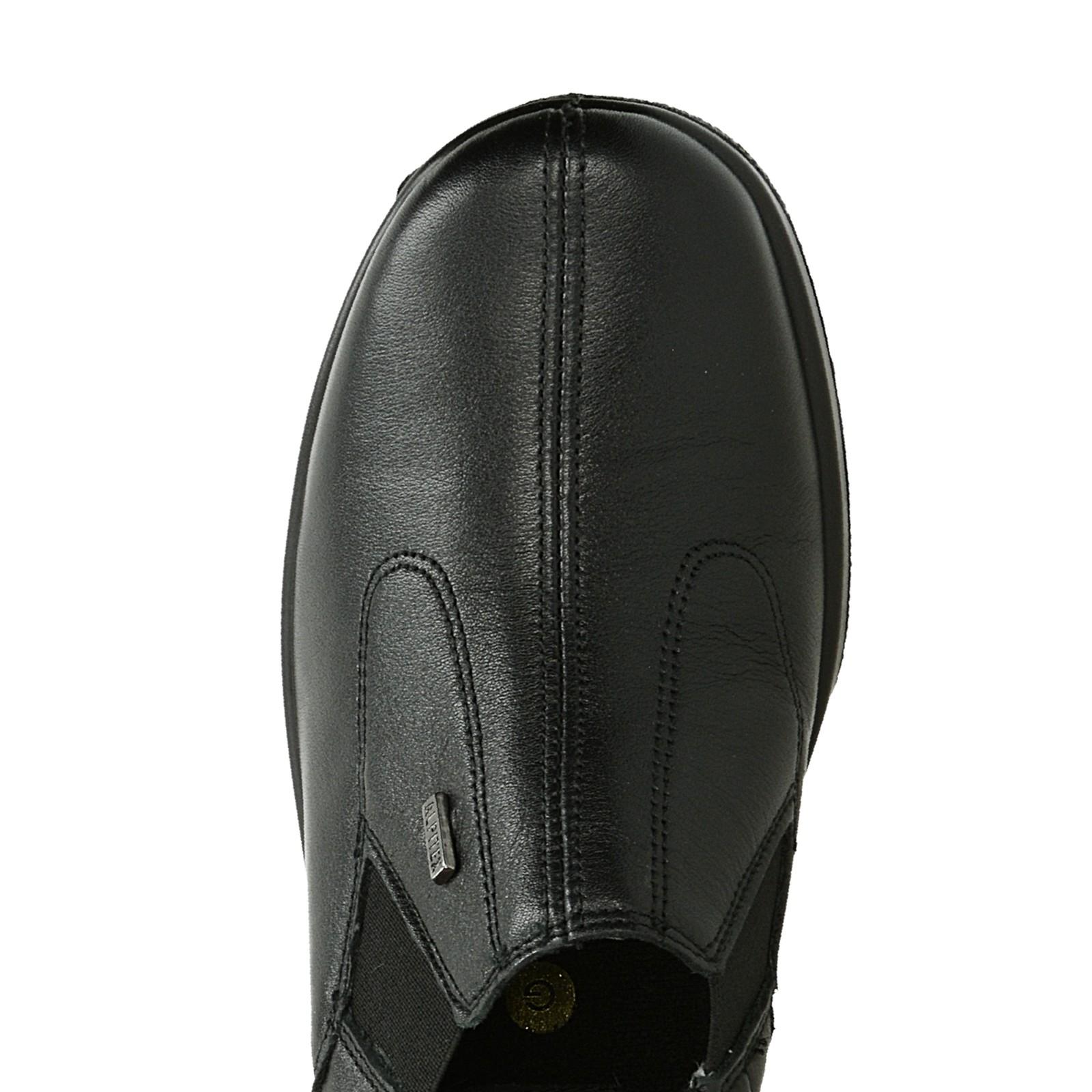 Alpina dámske kožené poltopánky - čierne