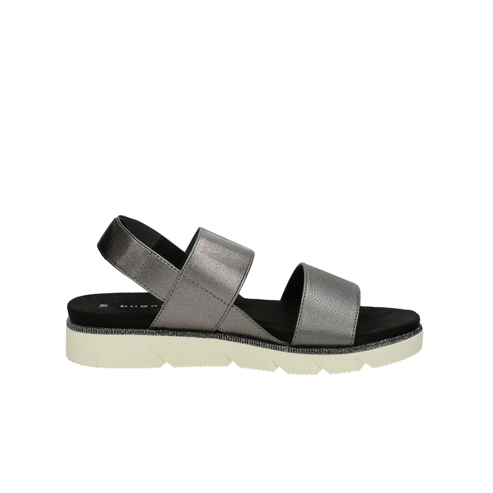 5a328d695f87e Bugatti dámske pohodlné sandále - šedé | 431-67380-5900-1100 www ...