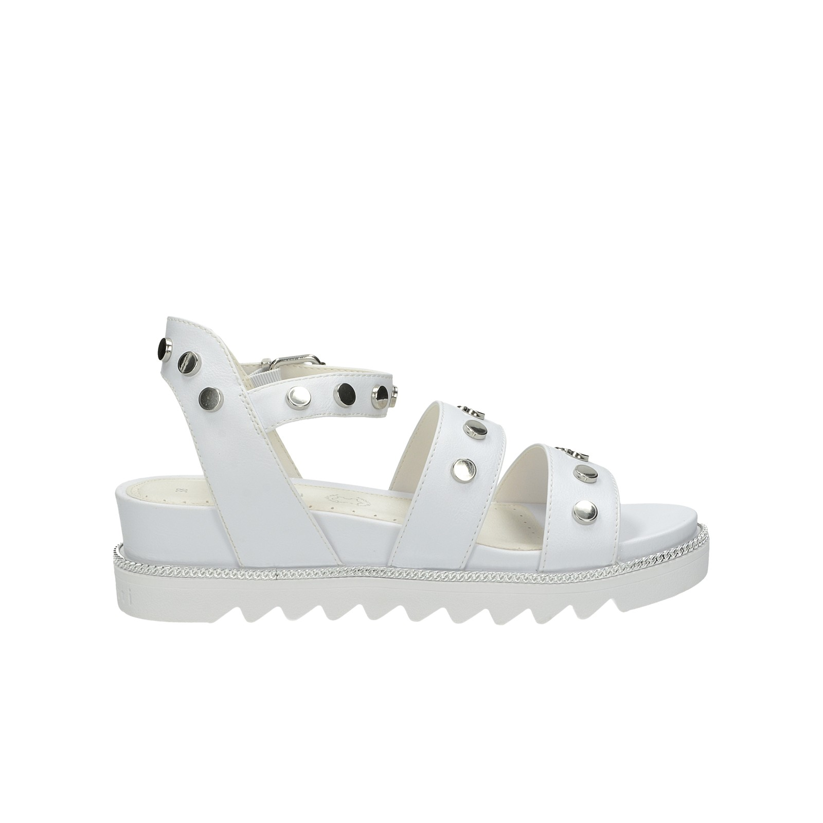 Bugatti dámske štýlové sandále - biele