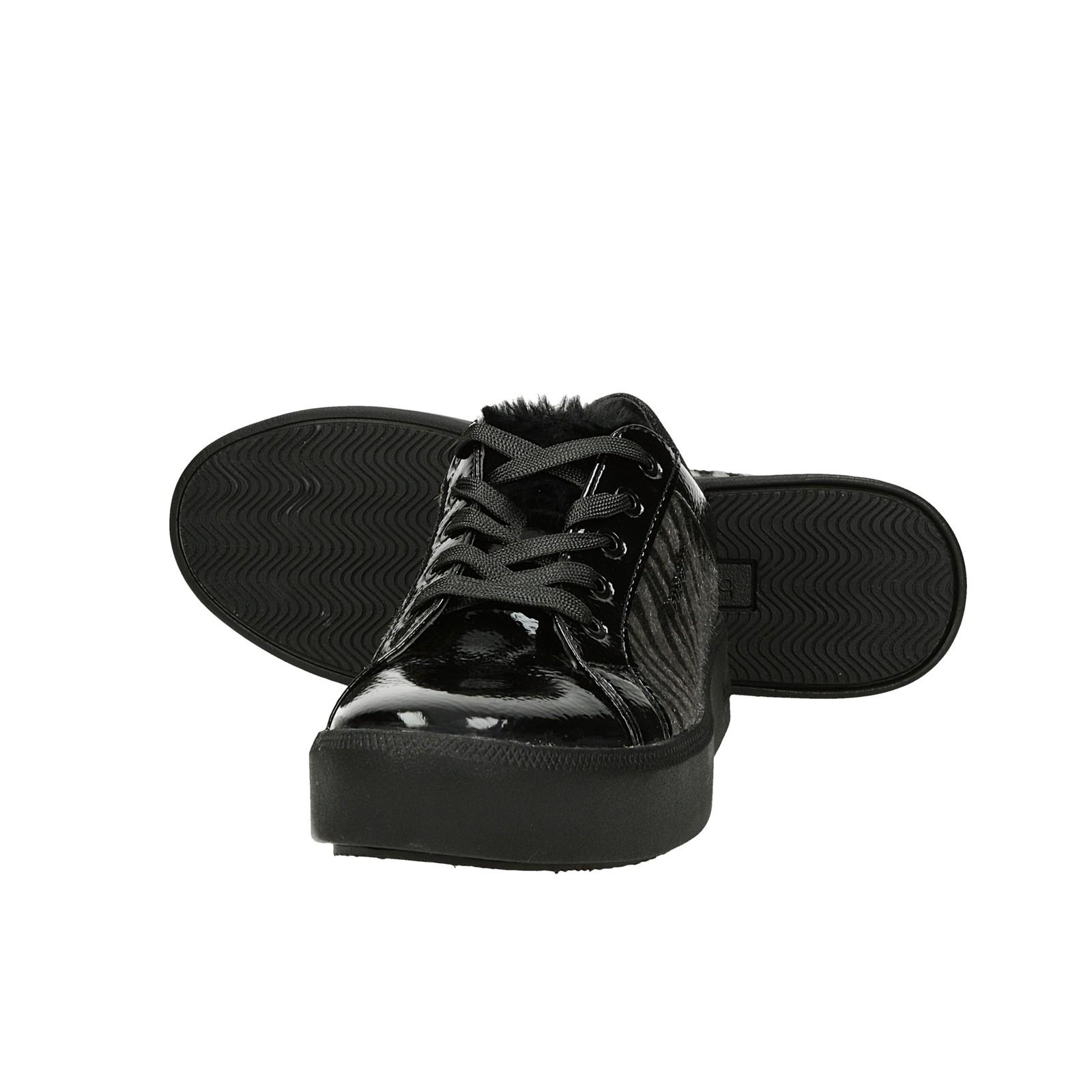 Bugatti dámske štýlové tenisky - čierne