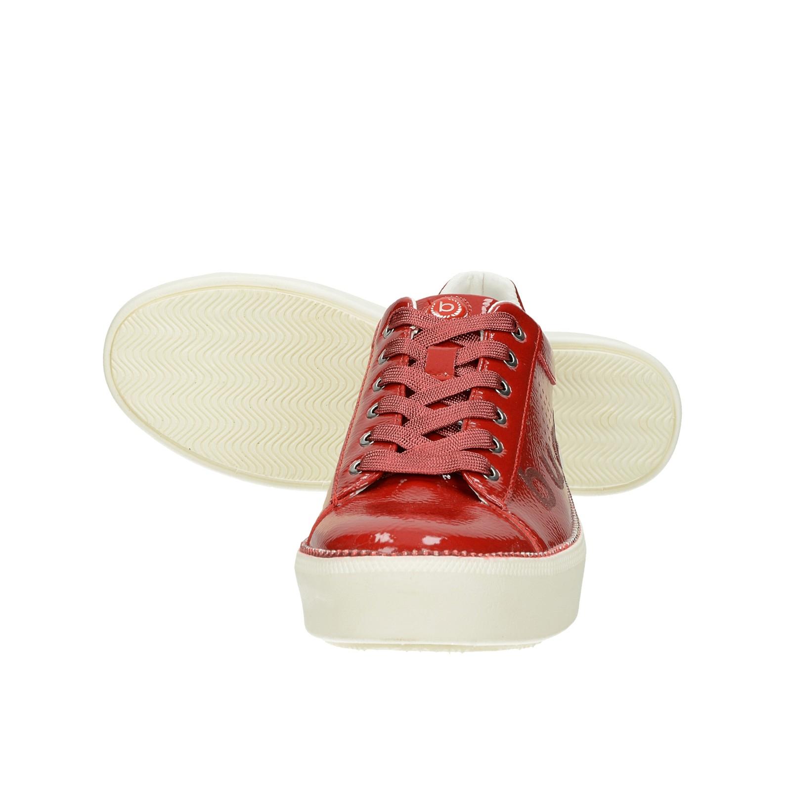 Bugatti dámske lakované tenisky - červené