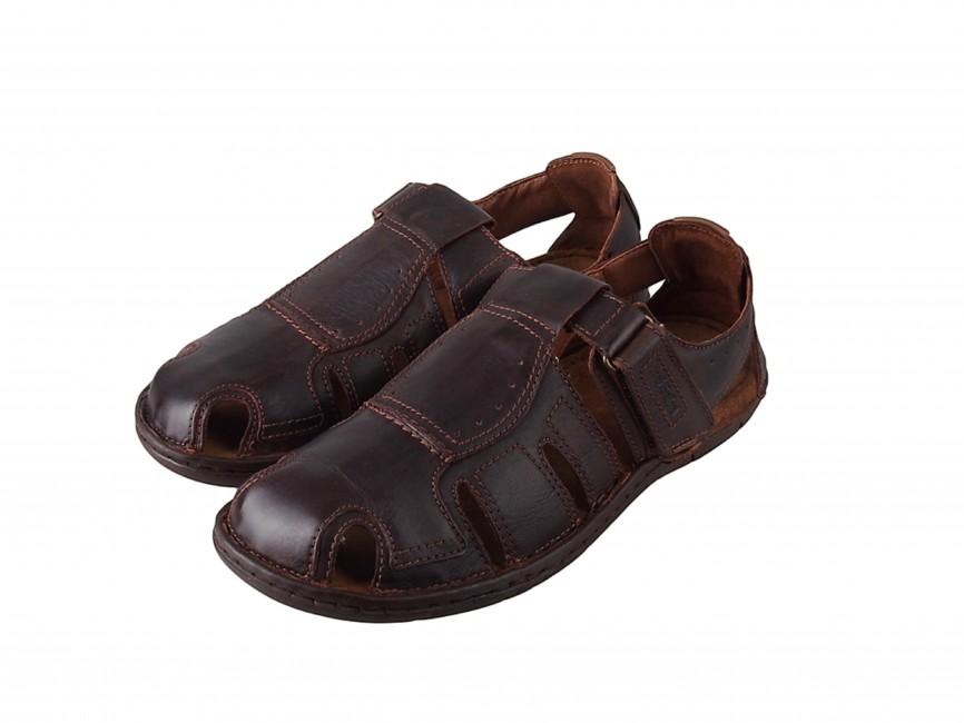 add7e1591 Josef Seibel pánske pohodlné sandále - hnedé | 43215-BRW www.robel.sk