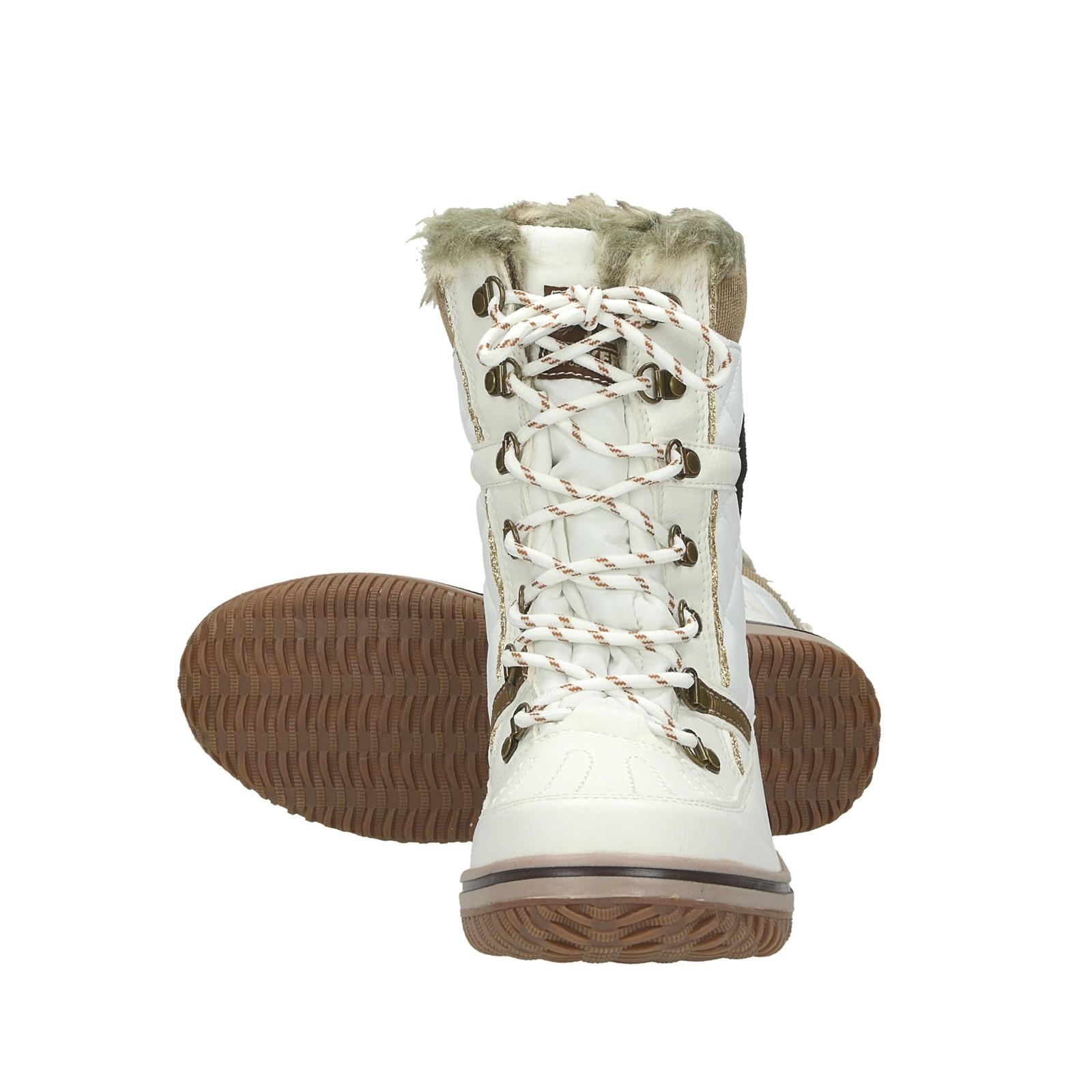 Dockers dámske štýlové nízke čižmy - biele