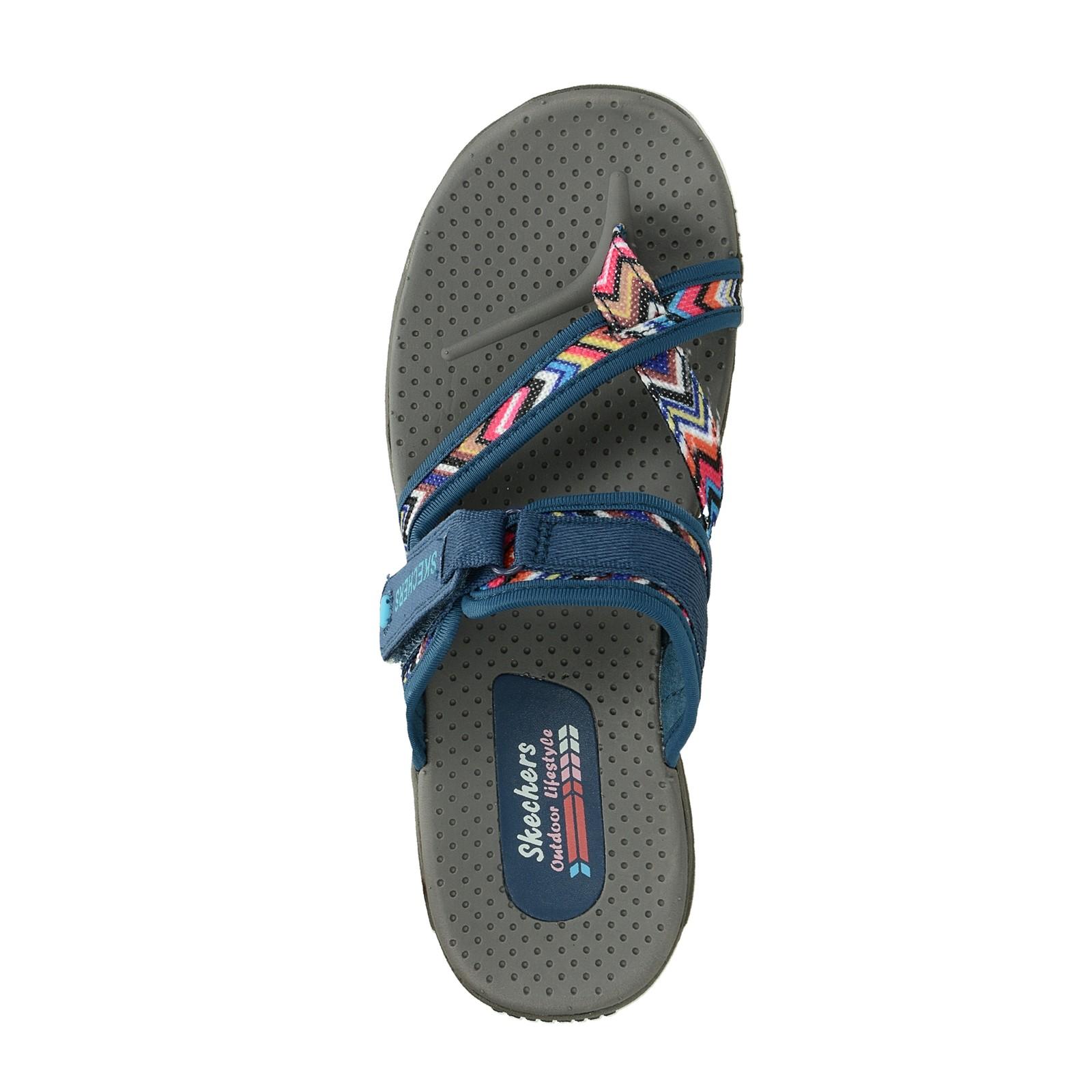 Skechers dámske pohodlné šľapky - modré