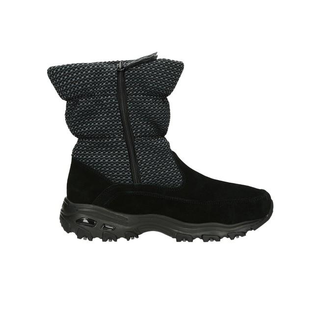Skeches dámske zimné čižmy - čierne ... 355b5839b66