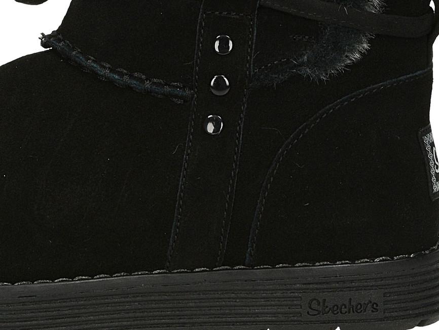 ... Skeches dámske zateplené čižmy - čierne ... 8d12c0ca19c