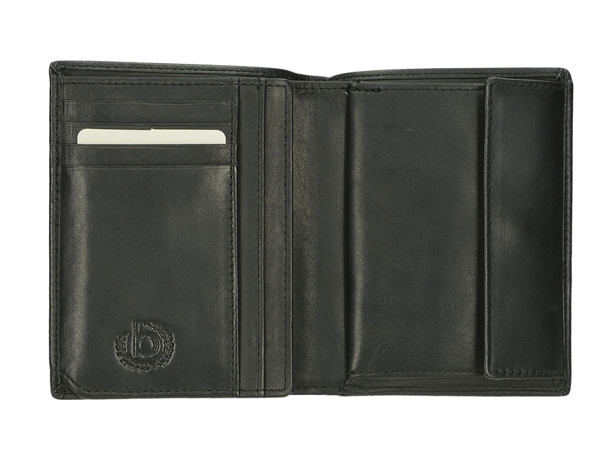 Bugatti pánska štýlová peňaženka - čierna