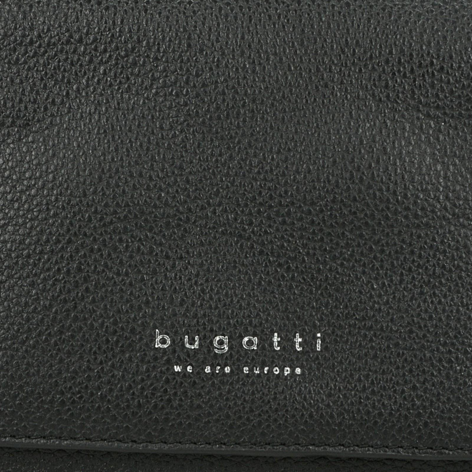 ... Bugatti pánska kožená taška - čierna ... 70b608385b7