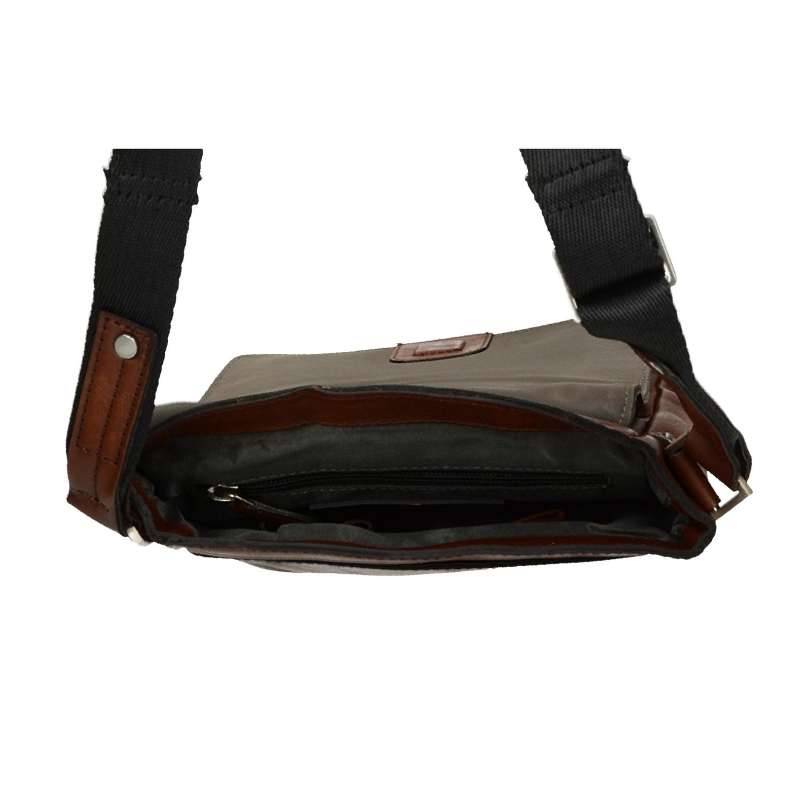 Bugatti pánska kožená taška - koňaková